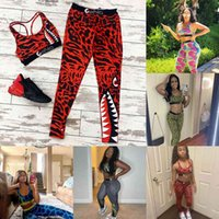 2021 Sommer Zwei Teile Set Damen Swimwear Designer Badeanzug Camouflage Cropped Tops Weste Tank Yoga BH Leggings Hosen Outfits Fashion Tarcksuit G313Z6W