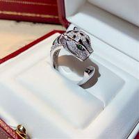 Mode Classic Ring zum Hang Marke, luxuriöse Persönlichkeit offenes Design Alle handgefertigten Diamanten Männer Frauen Liebesringe