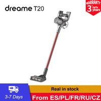 Dreame T20 Handheld Cordless Vacuum Cleaner 25kPa Strong Suction All In One Dust Collector All-surface Brush Floor Aspirator