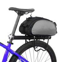 13L Велосипедная стойка Сумка Водонепроницаемый Велоспорт Задние сиденья Грузовые сумки MTB Road Bike Носитель багажника Пакет High-емкости