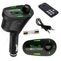 كيت سيارة مشغل mp3 الصوت اللاسلكية fm الارسال المغير USB SD MMC LCD التحكم سيارة مشغل mp3 مجانا