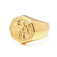 VAROLE Brave Lion Rings For Women Gold Color Finger Ring Bague Femme Fashion Jewelry Friend Gift Anillos Mujer