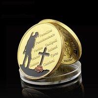 5 PZ1914-1918 Misurazione militare Placcato oro Placcato Souvenir Coin Great War 100th Anniversary Commemorative Challenge Badge Medaglia