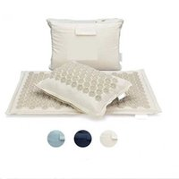 Acupressure Mat with Pillow Yoga Mat Set Fitness Exercise Gym Mat Thick Massage Pad Cushion for Back Fitness H0911