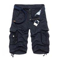 Шорты камуфляжные военные Бермуды летние камуфляжные грузы мужские хлопковые свободные тактические брюки без пояса