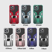 Phone Cases Kickstand Shockproof Hybrid Armor Cover For iPhone 12 11 Pro Max XS XR 7 8 Plus Samsung S20 plus