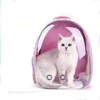 Carrier de gato sacos respirável PET transportadoras pequenas cão mochila espaço de viagem saco de transporte de gaiola carregando para portadores de gatos, caixas casas de bar