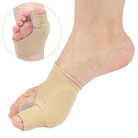 2PCS Bunion Corrector Gel Pads Manicotti Brace Sollievo Separatore di punta in grande punta per il dolore alle articolazioni Pedicure Pedicure Calzino Supporto per caviglia