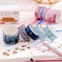 Gift Wrap 3Pcs Box Creative Fresh Washi Hand Account Tape Diary Sticker Stationery Scrapbooking Po Girls DIY Decorative Craft Supplies