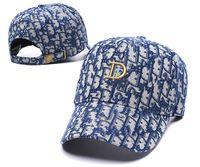 Klasik Beyzbol Şapkası Erkek Kadın Moda Tasarım Pamuk Nakış Ayarlanabilir Spor Mağarası Şapka Güzel Kalite Kafa