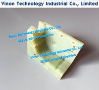 F308 Изоляторная пластина / направляющая База 81LX66WX56T EDM Запчасти A290-8110-Y761 для C, IA, IB серии. A2908110Y761.