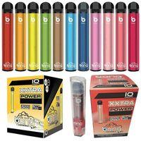 Zigarettenbang XXL Einweg-Vape-Stift-Ausrüstung 800mAh-Akku 6ML-Box Luftdampf 2000 Stück XXTRA V Puff Xtra Posh plus XL