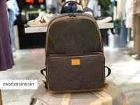 Кампус рюкзак мешок Nigo рюкзаки Nigo Virgil Nil кошелек Портфель Сумочка Путешествия Кожаный багажный бизнес TOME N40380