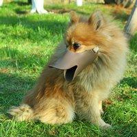 D22 جديد ملون قابل للتعديل سيليكون الكلب كمامة منع الكلب النباح حجم الكلاب الصغيرة 425 v2
