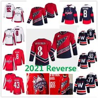 Retro retro Alex Ovechkin Washington Capitales Hockey Jerseys Tom Wilson Nicklas Backstrom TJ Oshie Braden Holtby Evgeny Kuznetsov John Carlson