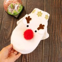 Dog Apparel Coat Big Nose Elk Winter Clothes Warm Puppy Sweater Xmas Hoodies Jacket For Yorkshire Terrier Christmas
