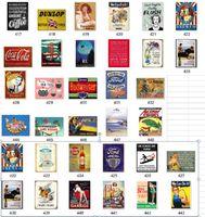 Großhandel Shabby Metall Zinnzeichen Malerei Kunst Handwerk Weihnachten Halloween Kaffee Bar Dekorationen Wand Poster Vintage Lustige Bar Zeichen RRD7062