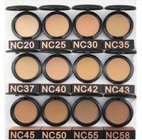 Maquiagem de alta qualidade em pó 12 cores pó mais fundação 15g