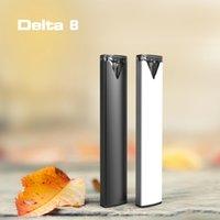 Delta 8 kit atomizzatore monouso Penna vape monouso Cartucce vuote 1.0ml Pod Sigarette elettroniche Concentrati VAPorizer ricaricabile 280mAh Batteria Bobina di ceramica