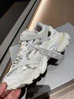 2021 4.0 Parça 2 Koşucu Ayakkabı Erkekler Kadınlar Moda Sarı Pembe Siyah Çift Spor Rahat Ayakkabı Eğitmenler Sneakers Eski Baba Yüksek Kalite Boyutu35-47