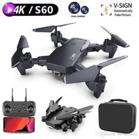 RC Drones 4K 1080P Wifi Fpv HD Dual Camera Remote Control Drones Height Hold Mode Foldable Quadcopter Toys Gift