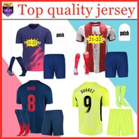 남성 키트 2021 2022 Atletico Suárez Madrid 홈 멀리 3 회 축구 유니폼 키트 20 22 22 Camisetas de Fútbol Joao Felix 축구 셔츠