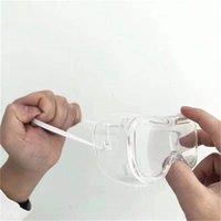 Yaratıcı Tasarım Göz Koruyucu Gözlük Katlanır Gözlük Koruyucu Gözlükler Yetişkin Unisex Toptan 1 8 HM H1