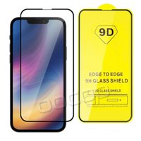 Full Cover 3D 9H Mobile Phone Tempered Glass Screen Protector Film For iPhone 12 Mini 13 Pro Max 11 8 7 6s Plus Samsung S21 S21plus S20 FE A10 A20 A31 A51 A21S A32 A52 A72