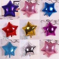 18 pulgadas estrella aluminio película globo boda fiesta decoración colorfull inflable globo globo globo cy01