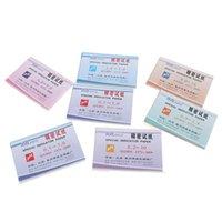 Strips Range acido PH 6.9-8.4 / 9.0-14 / 8.2-10 / 0.5-5.0 / 6.4-8.0 / 3.8-5.4 Acqua di carta Lightmus Alcalino che indica il kit di test del kit di prova
