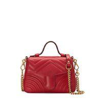 Moda di alta qualità Designer Leather Ladies Bag Goods Body Body Body Dimensione 21-5-15.5-8cm
