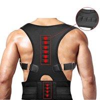 Einstellbare orthopädische Rückenlehne Haltung Trägerstützen Gürtel Korrektor de Postura Schulter