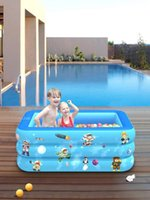 Inflatable Swimming Pool Thickened Durable Safe Family Large Paddling Pool Durable For Children Adults Babies