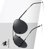 .Onepaul magnesio gafas de conducción rectángulo tonos para los oculos masculinos masculinos hombres polarizados gafas de sol aluminio TYJ