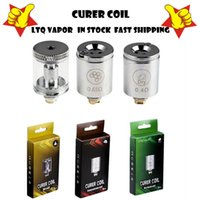 100% Original LTQ Vapor Curer Coil Dry Herb Concentrate kit Wax Oil Atomizer Core Replacement 0.4ohm 0.65ohm Vaporizer Head in stock
