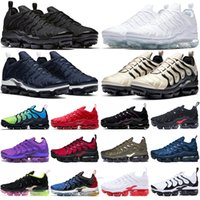 TN plus menrunningshoes outdoor mens womens trainers Triple Black Olive Suman All Red tns sports sneakers overszie 36-47