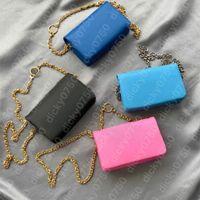 Wholesale bolsas embreagem de corrente crossbody sacos senhora envelope clássico bolsa de ombro para as mulheres moda cadeias bolsa designer bolsa de bolsa de couro simplicidade Dicky0750