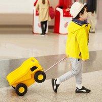 Чемоданы путешествия сказка детская игрушка тележки чемодан грузовик автомобиль прокатки багажника для детей