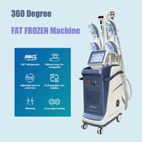 2021 Cryo Slimming Machine with double chin handle fast weight reduction cryotherapy fat frozen cellulite removal cryolipolysis equipment 5 handles