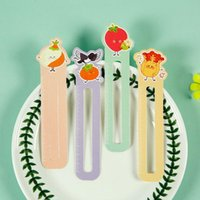 Bookmark Paper Bookmarks Farm List Books Clip Stationery Holder Special-shaped Scale Ruler Teacher Gift Office Supplies
