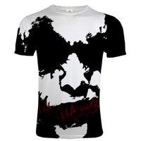 Primavera verão moda coringa t-shirt palhaço 3d impresso homens / mulheres o-pescoço streetwear camiseta esportes casuais tees harajuku hip hop tops