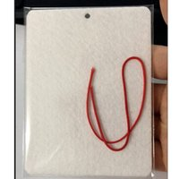 Süblimasyon Boş Hava Spreyi 10 * 7 cm Malzeme Sac Beyaz Uncented Ev Kokular Araba Hava Spreyleri ile Dize CYZ3064 1200 adet