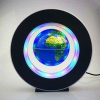 Nachtlichter Floating LED-Magnetebene Globus Runde Antigravity Ball für Kinder Geschenke Bettwohnkultur Schreibtischlampe