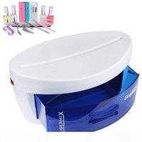 Plastik UV Sterilizatör Kabine Çekmece Dezenfeksiyon Ekipmanları Makinesi Salon Araçları AB Tak Nail Art Malzemeleri # 11