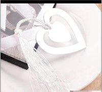 이벤트 축제 파티 호주 용품 홈 가든 더블 하트 메탈 북마크 베이비 샤워 세례 생일 KKB7051