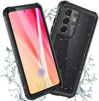 360 حالات الهاتف ماء كامل الجسم غطاء مع مدمج في حامي الشاشة الثقيلة صدمات ip68 حالة آيفون 12 برو ماكس 11 XS XS Samsung S21 بلس S20 Ultra A32 A52