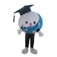 Costume de mascotte de la mignon mignonne de la terre Halloween Haute Qualité Dessin animé Globe Peluche Anime Thème Personnage Taille adulte Taille de Noël Carnival Anniversaire fête de fantaisie