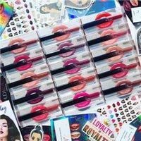 Lip Gloss 12 Colori Lips 12Different Colors Rossetto 12pcs / Set Buona qualità e DHL GRATUITO