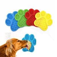 Köpek Yalama Mat Yavaş Besleyici Banyo Dikkat Distraksiyon Pedleri İmkanlar, Anksiyete Rölyef, Tımar, Pet Eğitim KDJK2104