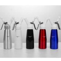 500 ml N2O Dispenser Krem Vurucu Kahve Tatlı Soslar Tereyağı Kırbaç Alüminyum Alaşım Krem Köpük Makinesi Kek Araçları CYZ3114